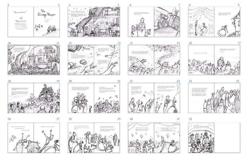A really detailed storyboard example