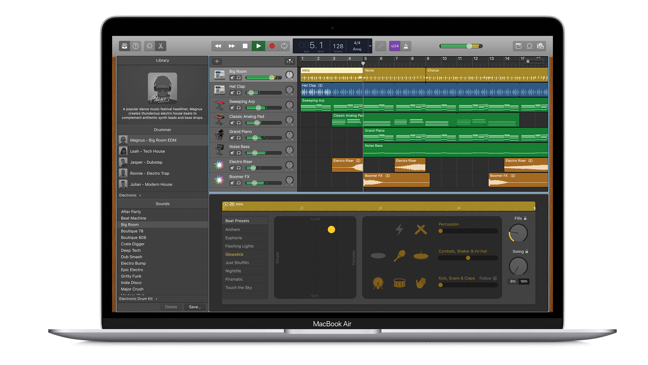 Garageband podcasting software