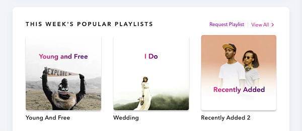 Popular playlists