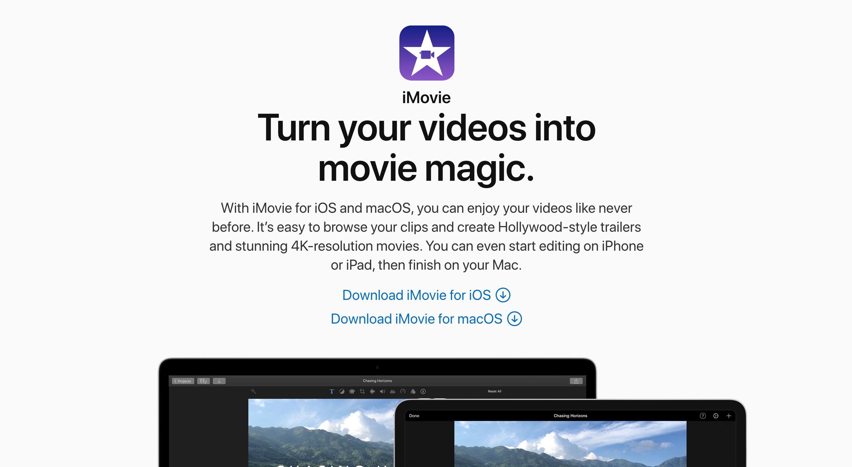 Apple iMovies