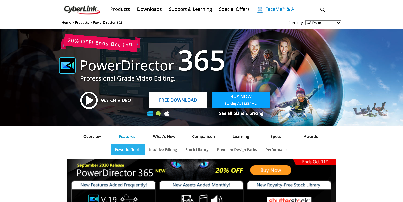 CyberLink PowerDirector 18