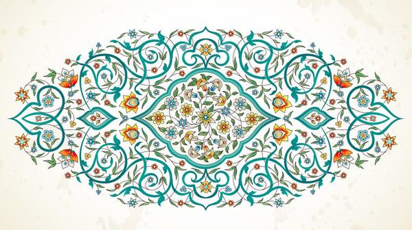 Eastern-style-arabesque-artwork
