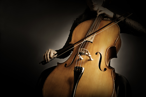 Woman-playing-cello