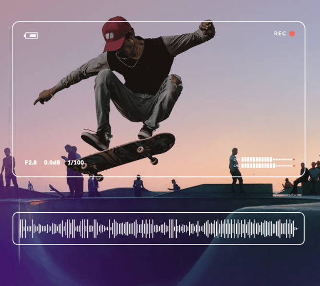 Royalty Free Music For Videos - Skateboarder Image