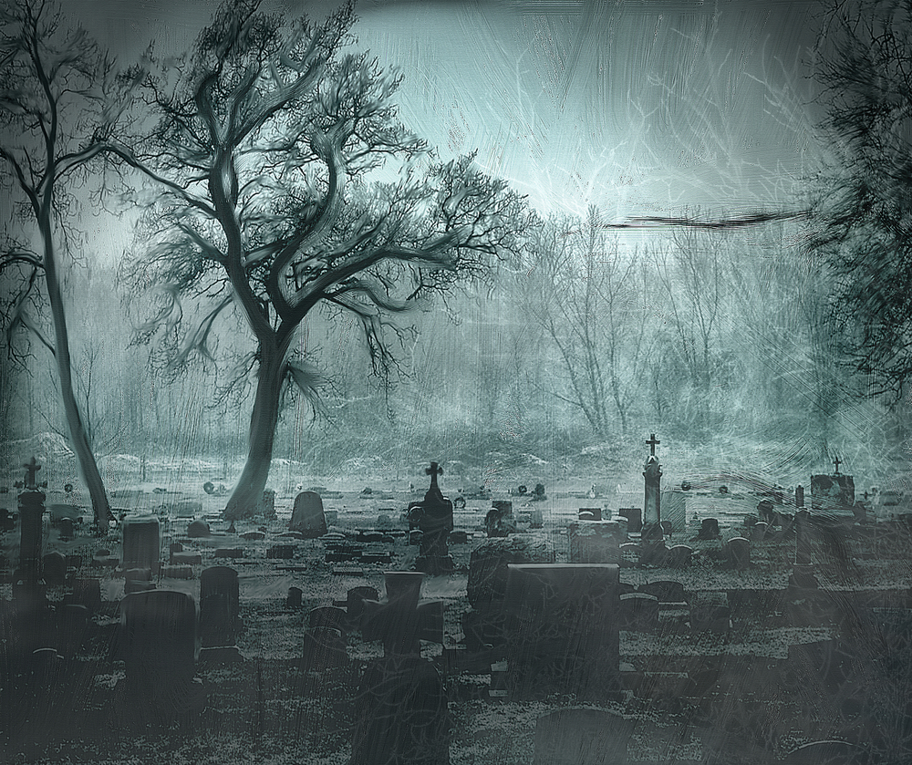 Creepy-graveyard-at-night