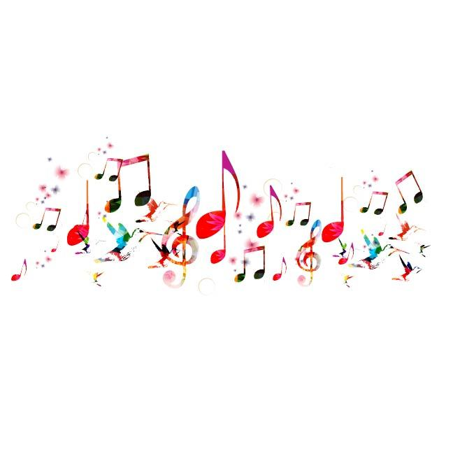 Colorful-and-artistic-musical-notes